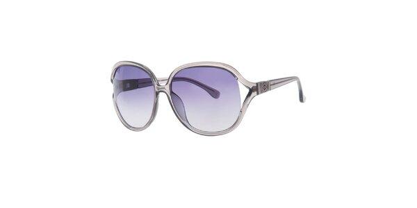 Dámske šedé oválne slnečné okuliare Michael Kors
