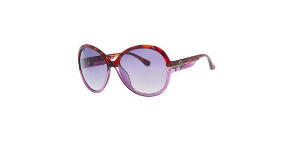 Dámske fialovo-žíhané slnečné okuliare Michael Kors