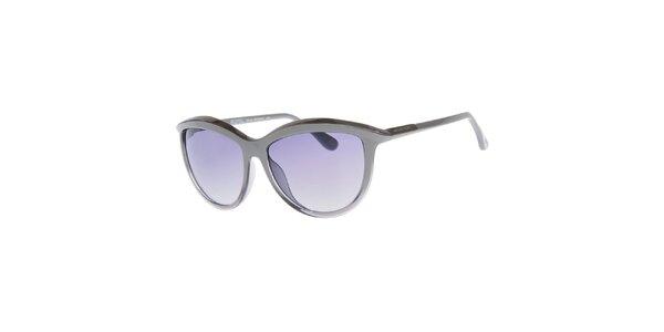 Dámske lesklé šedé slnečné okuliare Michael Kors