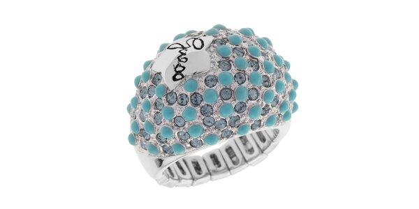Dámsky prsteň s tyrkysovými kameňmi Guess