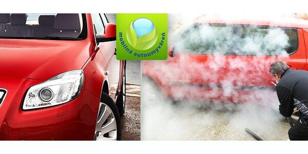 Dezinfekcia a čistenie klimatizácie, interiéru a exteriéru auta