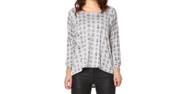 Dámske tričko s klietkami Miss Jolie