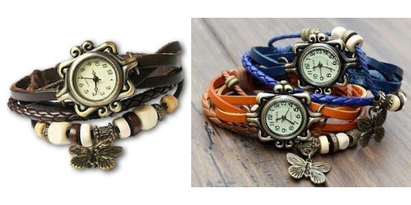 Dámske Vintage hodinky