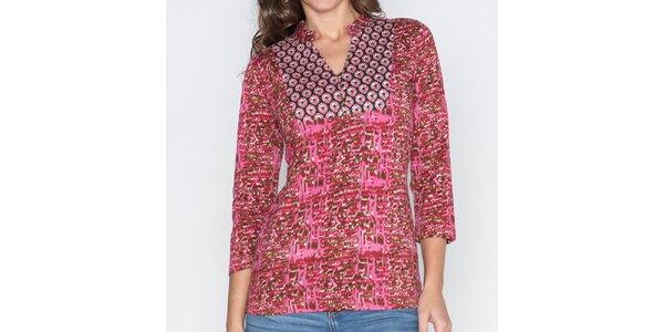 Dámske vzorované tričko Mahal