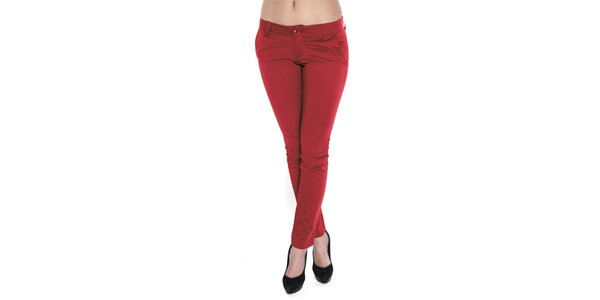 Dámske červené nohavice Giorgio di Mare