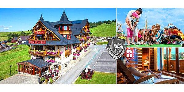 Luxus pre dvoch alebo rodinu pod Belianskymi Tatrami