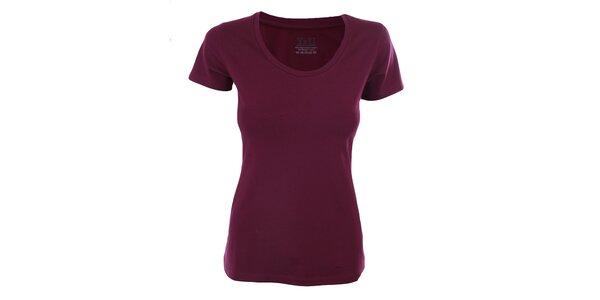 Dámske černicové tričko s krátkym rukávom YU Feelwear