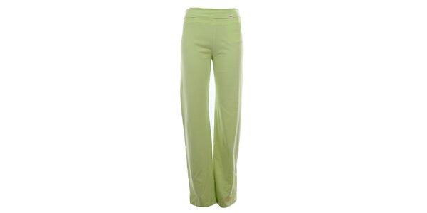 Dámske limetkovo zelené športové nohavice YU Feelwear