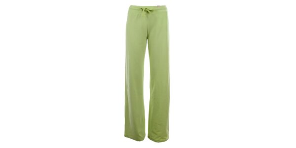 Dámske limetkovo zelené tepláky YU Feelwear