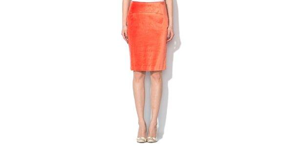 Dámska tehlovo červená sukňa Roccobarocco