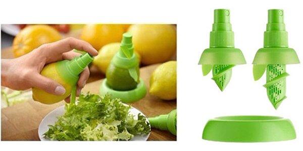 Odšťavovač - sprej na citrusové plody!