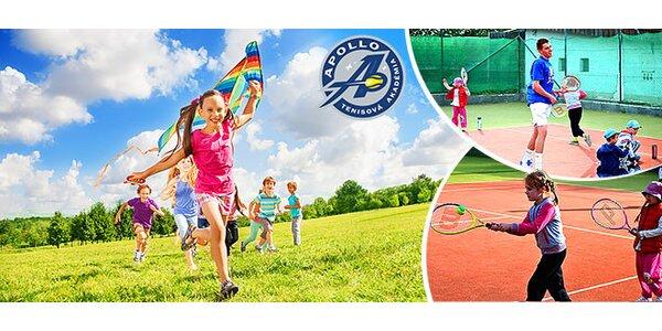 5-dňový detský letný tenisový tábor na ranči