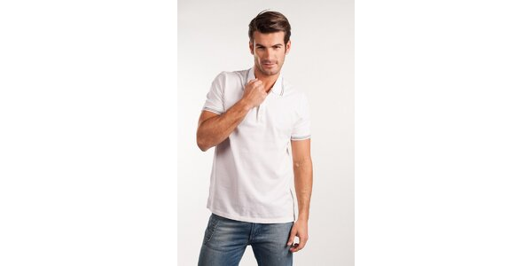 Pánske biele polo Calvin Klein