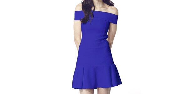 Dámske modré šaty Liquorish