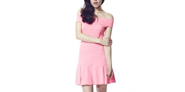 Dámske ružové šaty Liquorish