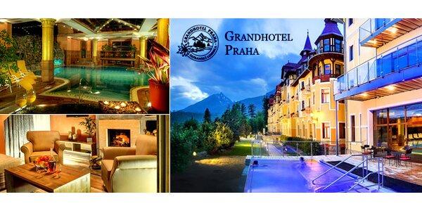 Pobyt v unikátnom Grandhoteli Praha**** v Tatranskej Lomnici