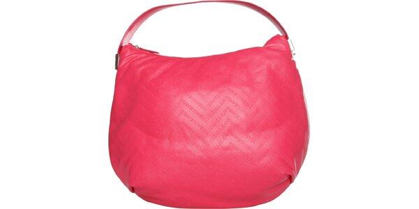 Dámska korálovo ružová kabelka Versace Jeans