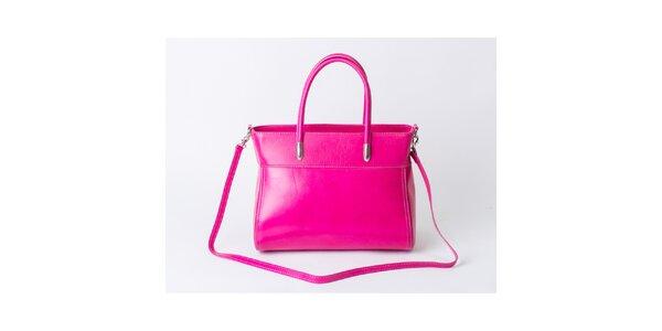 Dámska sýto ružová kabelka Pelleteria