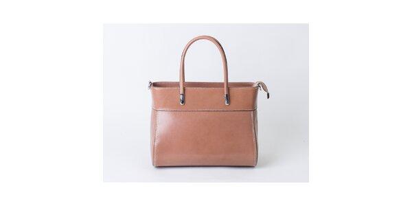 Dámska hnedá kabelka Pelleteria