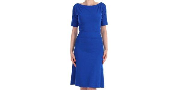 Dámske sýto modré šaty Yuliya Babich