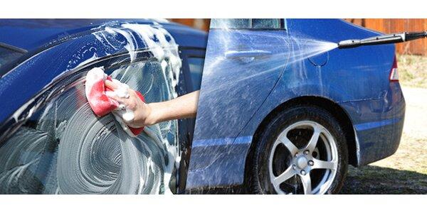 Ručné umytie vášho auta