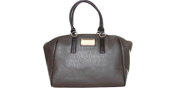 Dámska šedoh-nedá kabelka Versace Jeans