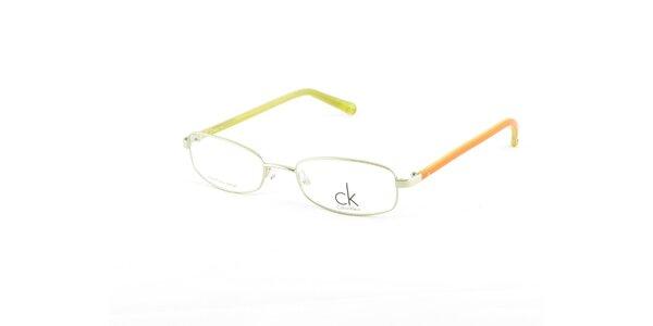 Farebné dioptrické obrúčky Calvin Klein
