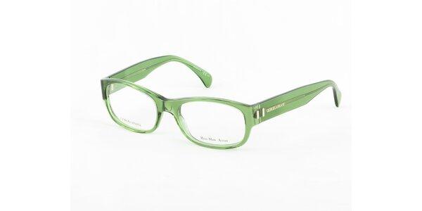 Dámske zelené dioptrické obrúčky Giorgio Armani