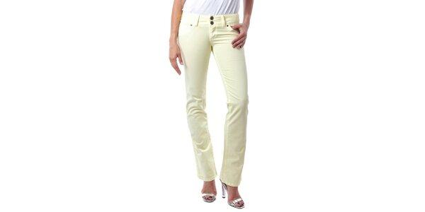 Dámske citrónovo žlté džínsy Seven LA