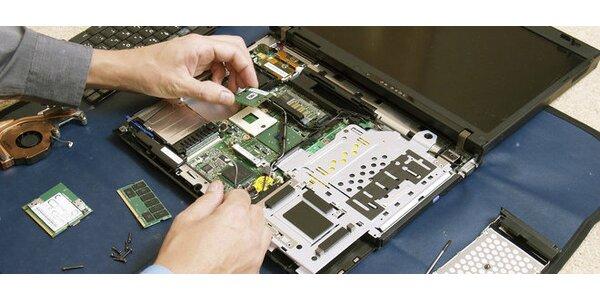 Hĺbkové vyčistenie notebooku od prachu a iných nečistôt