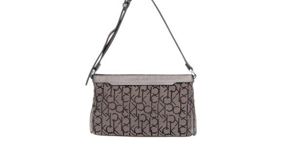 Dámska menšia kabelka s potlačou Calvin Klein