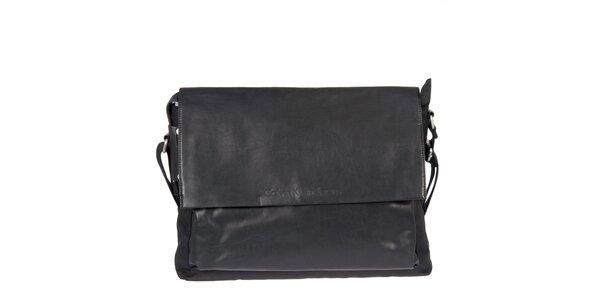 Pánska čierna taška s klopou Calvin Klein Jeans