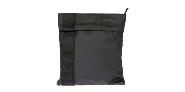 Pánska čierna taška cez rameno s logom Calvin Klein Jeans