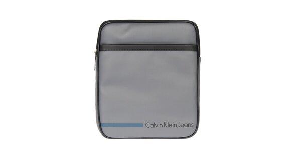Pánska šedá taška cez rameno Calvin Klein Jeans