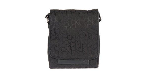 Pánska taška cez rameno s iniciálami Calvin Klein