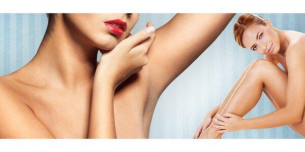 Klasická depilácia teplým voskom