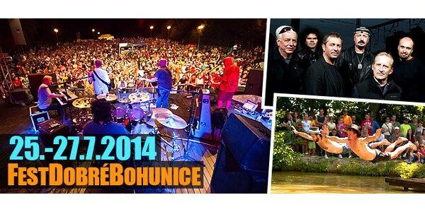 Folk&country FestDobréBohunice - trojdňový vstup