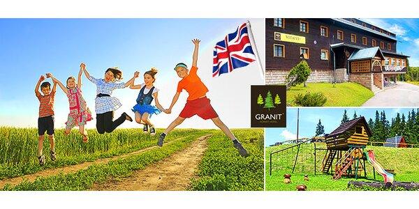 Letný tábor aj s angličtinou pre vaše deti