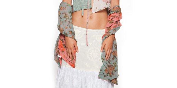 Dámsky farebný kvetovaný šál Ian Mosh
