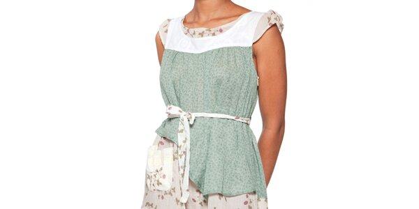 Dámske svetlo zelené šaty Ian Mosh