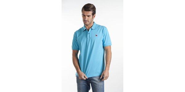 Bledo modré polo tričko Toro
