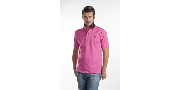 Sýto ružové polo tričko Toro