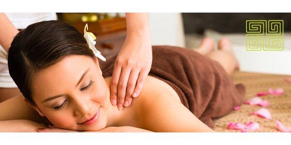 Celotelová akupresúrna masáž alebo bodová masáž