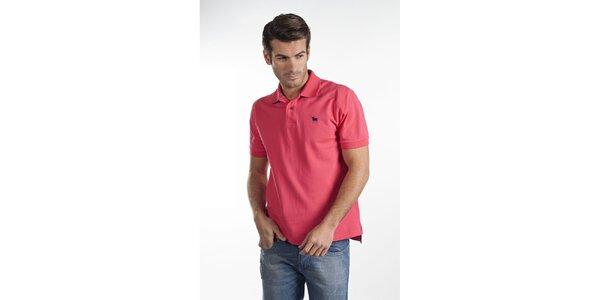 Ružové polo tričko Toro