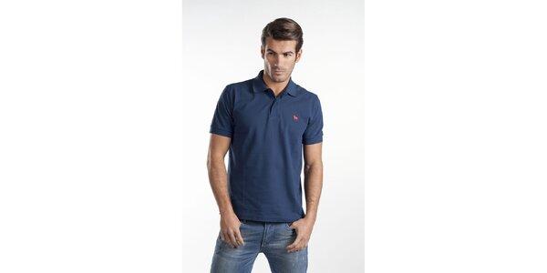 Tmavo modré polo tričko Toro