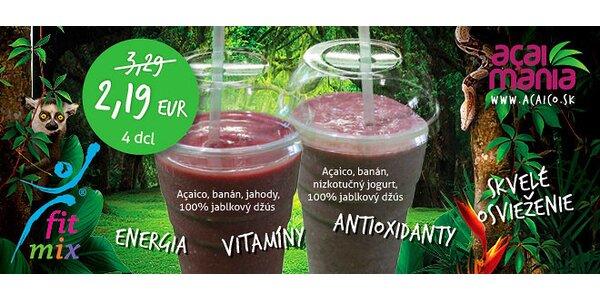 Letné smoothies s Açaicom v AUPARKU