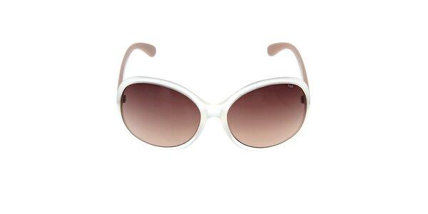 Dámske slnečné okuliare s béžovými stranicami Fila