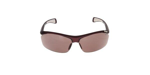 Slnečné okuliare s hnedými sklami Fila
