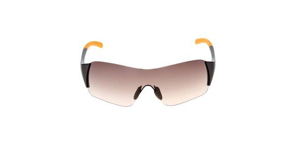 Slnečné okuliare so žltým zakončením straníc Fila