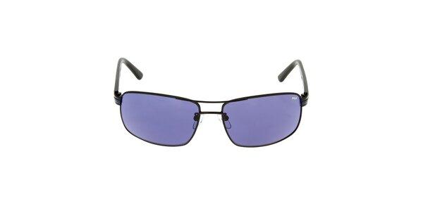 Pánske slnečné okuliare s modrým prúžkom na straniciach Fila